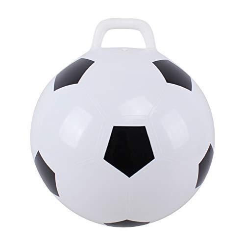 STOBOK Hopper Ball Hüpfball mit Griffen Hop Ball Känguru Hüpfburg Hop Hop Ball springen springen 45cm (Fußball)