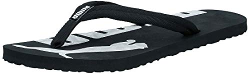 PUMA Epic Flip V2, Chanclas Unisex Adulto, Negro (Black/White), 43 EU