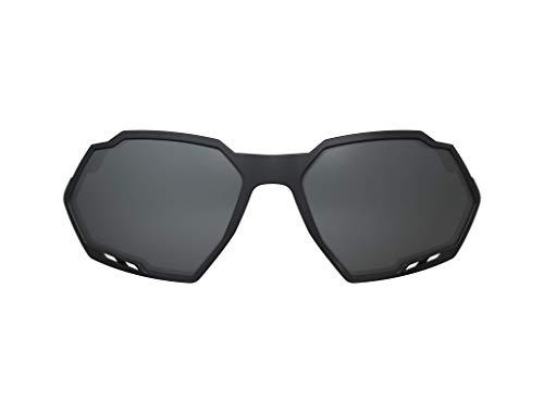 Lentes sobressalentes para óculos de sol, Switch Rush, HB, Unissex, Preto/ Cinza Mate