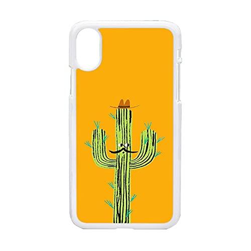para Niños Caja del Teléfono De Plástico Duro Fascinante Compatible con iPhone X MAX/XS MAX Tener Cactus