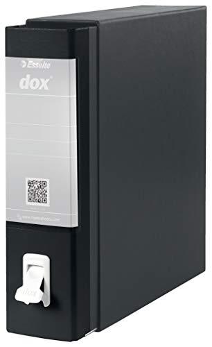 Esselte Dox 1 Aktenordner (DIN A4) schwarz