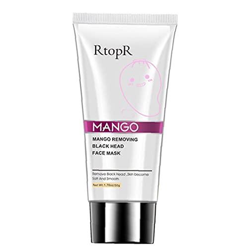 YepYes Removedor Blackhead Crema Crema Mango Reparación de la Crema de acné Skin Clear Clear Clear para la Cara Hidratante Brillante Reafirmante 50g para Mujeres Hombres