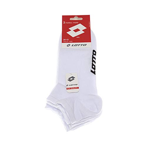 Lotto Socke Söckchen - 3 pack - 3 PRS TRAINERS N/B - 43/46