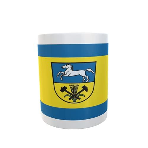 U24 Tasse Kaffeebecher Mug Cup Flagge Landkreis Helmstedt