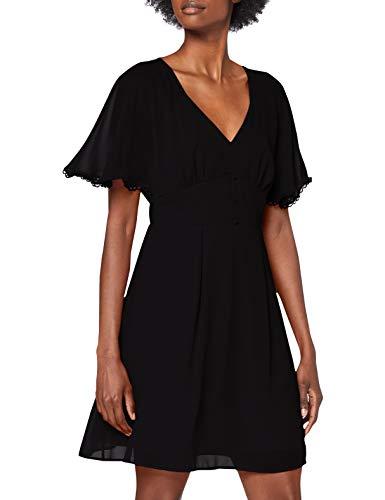 Naf Naf L-Crocus R1 Vestido, Negro, 44 para Mujer
