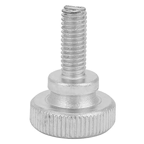 Tornillo manual de fácil operación, tornillo de cabeza moleteada de aplicación amplia y resistente, herramientas, coches electrónicos para(M6*16 (40pcs))