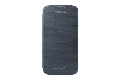 Samsung Original EF-FI950BBEGWW Flip Cover (kompatibel mit Galaxy S4) in schwarz