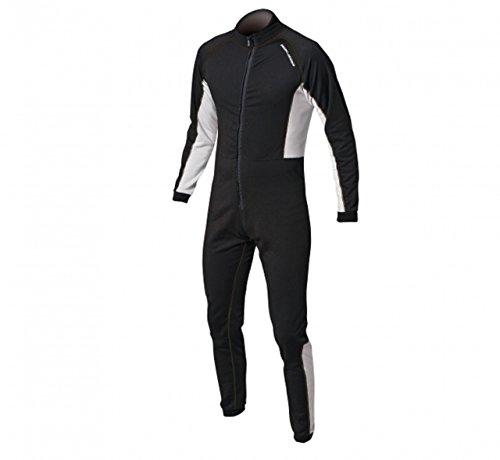 Magic Marine Drysuit Dry Suit Underfleece Black - thermische warme Wärme legere Leichte Flatlocknähten - Unisex
