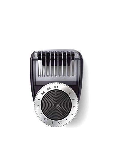 CP0793 Adjustable Precision Back Pack Beard Comb 0.4-10mm for Philips Oneblade Shaver ONLY FIT to: QP6505 QP6510 QP6520 QP6620 422203626161