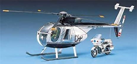 Academy 1/48 Hughes 500D Police Helicopter # 1643 by Academy