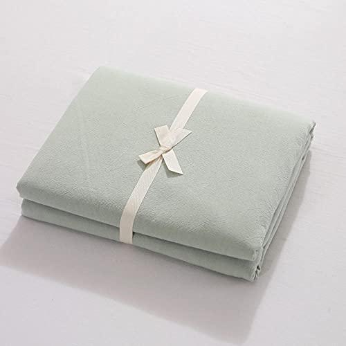 HPPSLT Protector de colchón de bambú Funda de colchón y Ajustable Sábana de algodón de una Sola Pieza a Prueba de Polvo-6_90 * 200cm