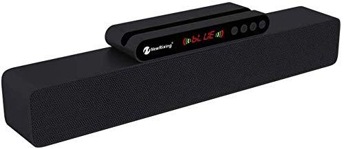 Barras De Sonido Dolby Atmos Bluetooth 5.0 Función De Aprendizaje por Infrarrojos Doble Subwoofer Ranura para Tarjeta Enchufable Soporte De Ranura Altavoces De Cine En Casa