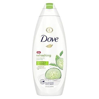 Dove go fresh Body Wash, Cucumber and Green Tea, 22 Fl Oz (1 Count)