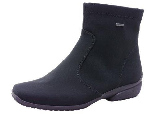 ara Portofino-St-Gor-Tex - Botas De Nieve de Material sintético Mujer, Color Negro, Talla 4