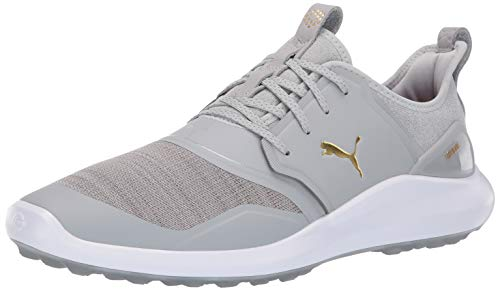 Puma Golf Men's Ignite Nxt Lace Golf Shoe, high Rise-puma Team Gold-puma White, 11 M US