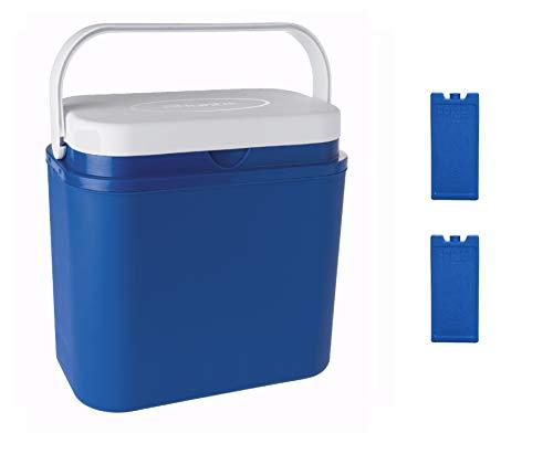 VIGIVISION Nevera Portátil, 25 litros. Incluye 2 Acumulador Frio. Nevera Acampada