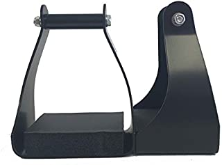 AJ Tack Wholesale Trail Riding Endurance Stirrups Horse Saddle 3