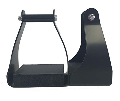 AJ Tack Wholesale Trail Riding Endurance Stirrups Horse Saddle 3' Neck Aluminum Foam Foot Pad