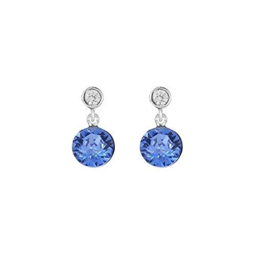 Coeur de Lion Pendientes para mujer azul 4951/21-0700