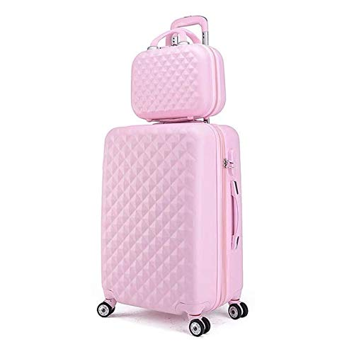 Mdsfe women spinner abs hard strong suitcase 20'24' 28'trolley case luggage set for traveling - a set of 2.22'