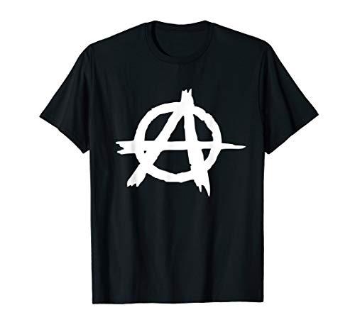 T-Shirt Anarchy - Anarchie Punk Graffiti Zeichen T-Shirt