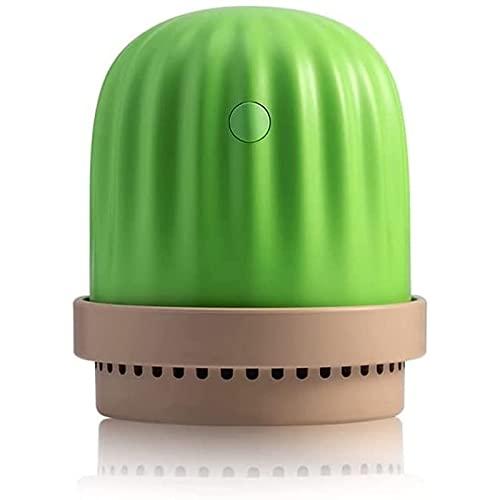 Flixej Mini humidificador USB, 2 Modos de Niebla, operación silenciosa, función de luz Nocturna