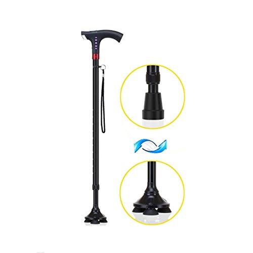 YouYou-YC Smart oude man krukken paraplu lange handvat stok gift paraplu multifunctionele anti-slip klimmen paraplu stevige paraplu