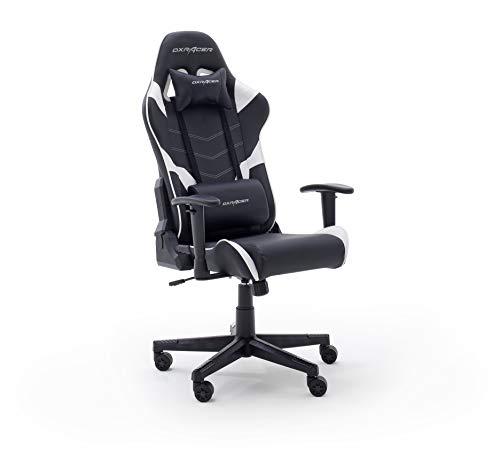 Robas Lund DX Racer P188 Gaming Stuhl Bürostuhl Schreibtischstuhl mit Wippfunktion Höhenverstellbarer Drehstuhl PC Stuhl Ergonomischer Chefsessel
