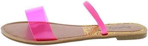 Athena Neon Sandals