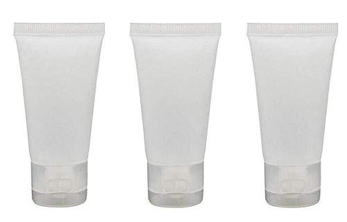 24PCS Plastique Squeeze Soft Tubes avec Flip Cover Cosmétique Lotion Shampooing Conditionneur De Cheveux Nettoyant Pour Le Visage Voyage Emballage Bouteilles Bouteilles Conteneur(30ml/1oz)