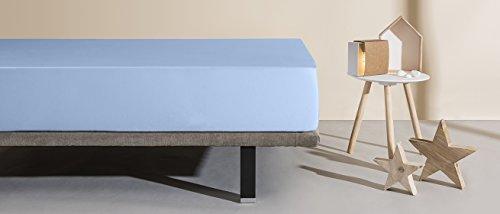 Velfont Breathable Waterproof Mattress Protector matrimoniale 180x200 Blu Alice