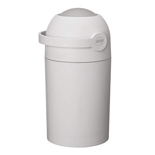 Chicco - Cubo para pañales, sistema antiolores, bolsas convencionales, color azul gris gris