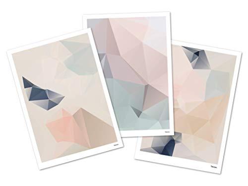 banum Postkarten Set Pastell — Postkarten Set, Vintage Postkarte Kunst, Postkarte Marmor, Postkarte Kunst, Grußkarte A6 Umschlag, Kunstkarten Malerei, Postkarte Ostern