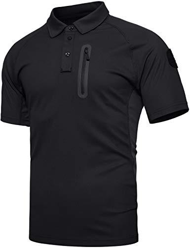 TACVASEN t Shirt Uomo Outdoor Camicia Casual Trekking Maglietta Militare Tattica Camicia Uomini Esercito Sportiva Sport t-Shirt Estiva Camicia per Il Tempo Libero