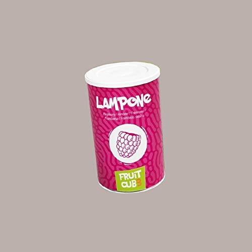 Leagel (1,55 Kg) FRUIT CUB3 LAMPONE Purea e Polpa per Gelato alla Frutta Granite Pasticceria