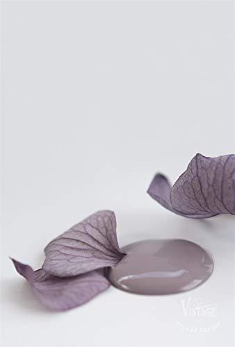 Jeanne d'Arc Living Vintage Paint Kreidefarbe 100 ml/3,4oz Chalk Kalkfarbe JDL 100% natürliche Möbelfarbe - einfache Handhabung (Delightful Plum)