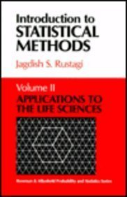 Introduction to Statistical Methods: Applications to the Life Sciences (Rowman & Allanheld Probability and Statistics Se
