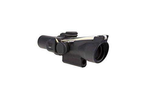 Find Bargain Trijicon ACOG 1.5 X 24 Scope Dual Illuminated Crosshair Reticle, Amber