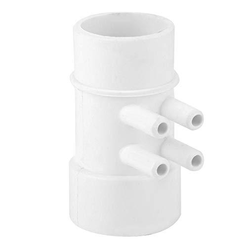 1.5in 10mm 4-poorts zwembad Sanitair Manifold PVC Verouderingsbestendige waterleidingaansluiting Praktische spa-accessoire