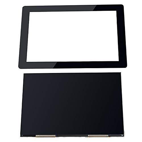 DJY-JY - Pantalla LCD de 8,9 pulgadas + protectores de cristal para impresora 3D Wanhao D8