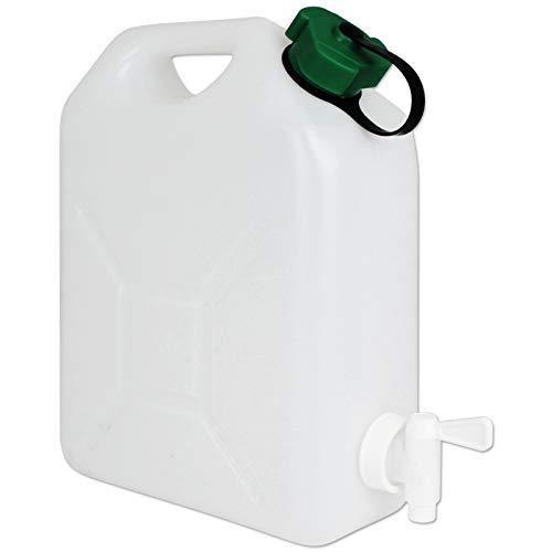 TW24 Wasserkanister mit Hahn Camping Wasserbehälter Trinkwasserkanister mit Größenauswahl (Wasserkanister 5L)