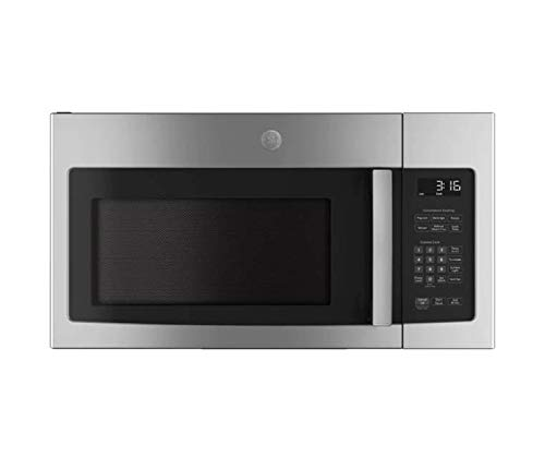 GE JVM3162RJSS 30' 120 Volts 1.6 cu. ft. Capacity Over the Range Microwave with Convertible Venting and 1000 Watts in Stainlesss Steel