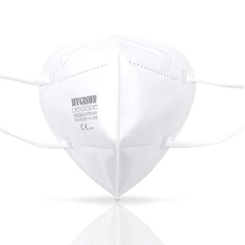 Mund und Nasenschutz [10x] FFP2 Maske – DEKRA geprüfte Mundschutz Maske einweg Atemmaske, Maske EINZELVERPACKT, Atemschutzmaske ohne Ventil FFP2 Mundschutz - 7