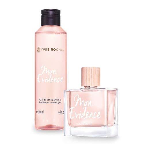 Yves Rocher MON EVIDENCE Duft-Set, blumig-frisches Geschenk-Set mit Eau de Parfum & Duschgel, Valentinstag Geschenkidee für Frauen