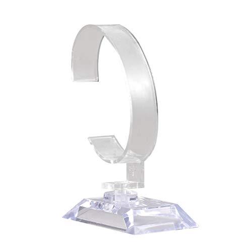 Balacoo Soporte de Reloj Transparente Universal Duradero Reloj de Pulsera Reloj Soporte de Exhibición Soporte de Estante para Gabinete Tienda Centro Comercial