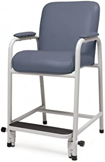 Lumex GF4405857 Everyday Hip Chair Hip Chair with Adjustable Footrest, Jade