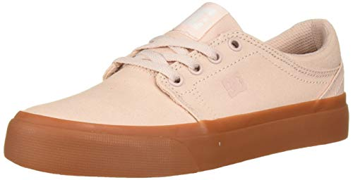 DC Chaussures de Skate Trase TX pour Femme. - Rose - Parfait pêche, 35.5 EU