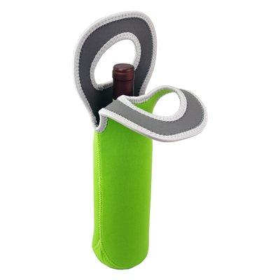Kesper Refroidisseur de bouteilles de boissons Refroidisseur Sac isotherme Refroidisseur à Vin pour 1 bouteille vert