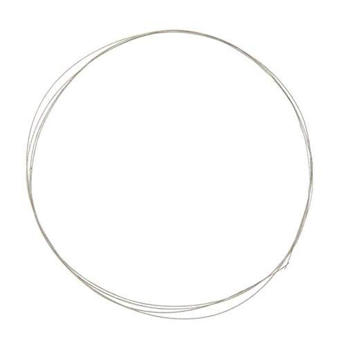 DXX-HR Hoja de sierra, 0,26 mm x 1 m galvanizada de diamante sierra de sierra de alambre de sierra de diamante herramienta de corte