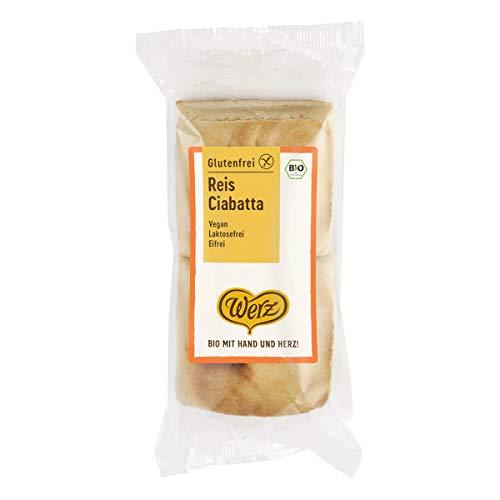 Werz - Reis-Ciabatta glutenfrei - 150 g - 6er Pack